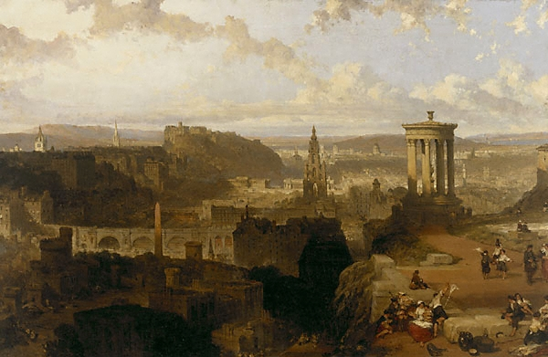 David Roberts Roberts__Edinburgh_from_the_Calton_Hill